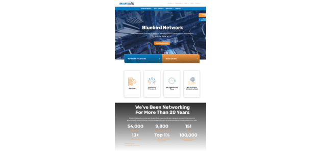 Bluebird Network Launches Redesigned Website to Enhance Customer Support