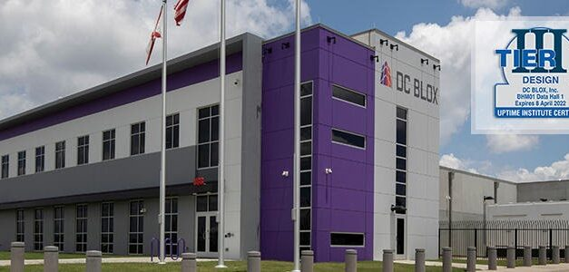 DC BLOX is First Multi-Tenant Data Center Operator in Alabama to Achieve an Uptime Institute TCCF Certification