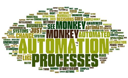 Monkey see, Monkey do, Monkey do, Monkey do. Automation fail!