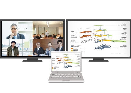 Content Sharing via Video Conferencing