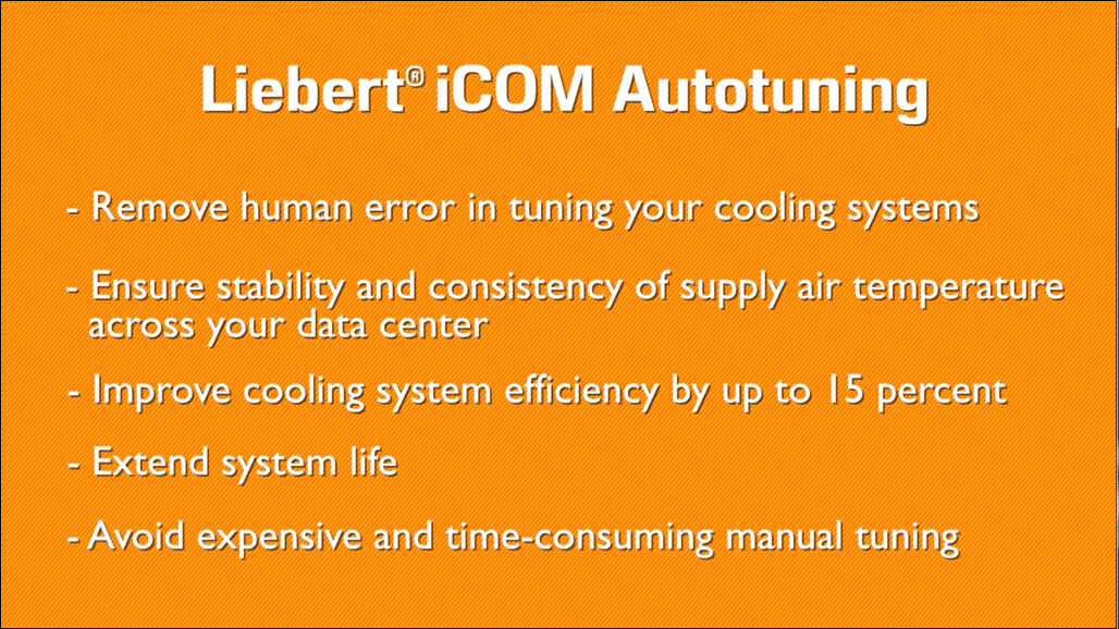 Vertiv™ Introduces Autotuning Control for Enhanced Cooling Efficiency and Protection