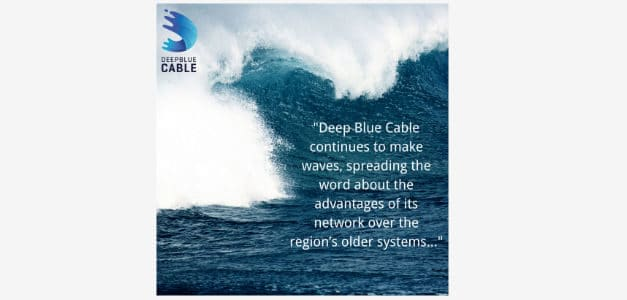 Deep Blue Cable Make Waves as Company Plans Surveys for Its Pan-Caribbean Subsea System