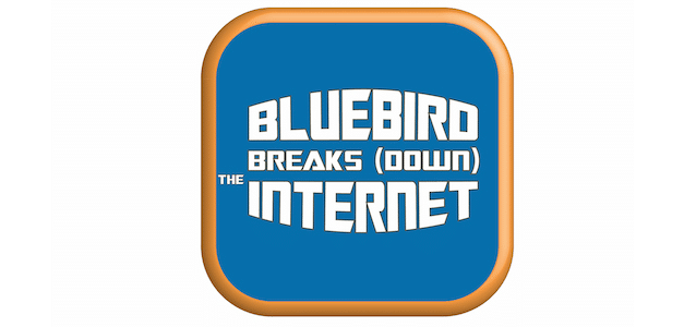 Bluebird Breaks (Down) the Internet