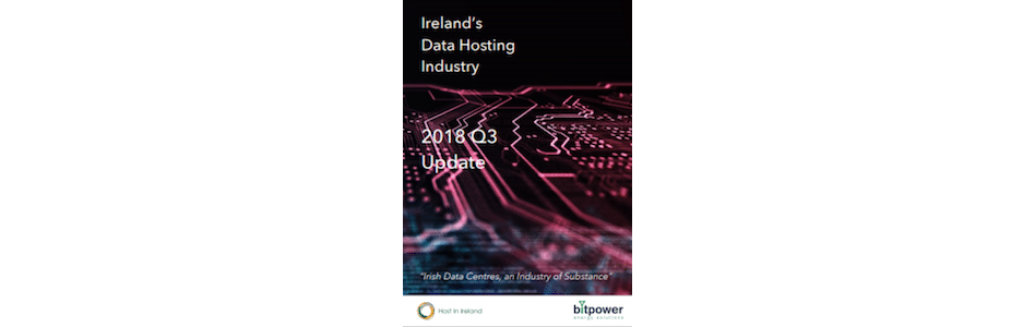 Host In Ireland's Q3 Update Report Examines Ireland's Data Center Industry Growth