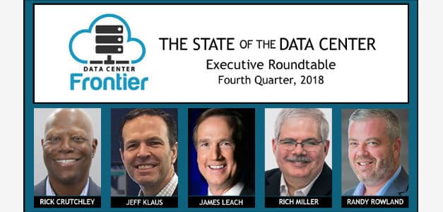 DCF 2018 Year-End Data Center Executive Roundtable