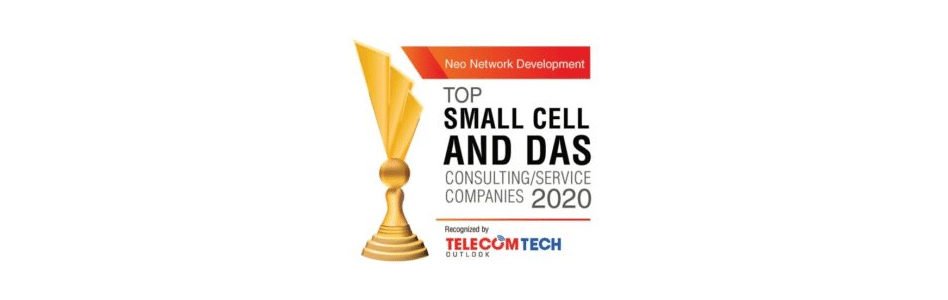Neo Network Development Recognized by TelecomTech Outlook as Top 10 Small Cell/DAS Company
