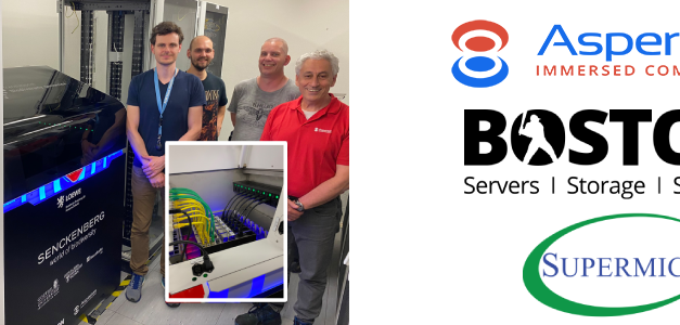 Immersed Computing® Solutions from Boston and Asperitas Support the Translational Biodiversity Genomics Project