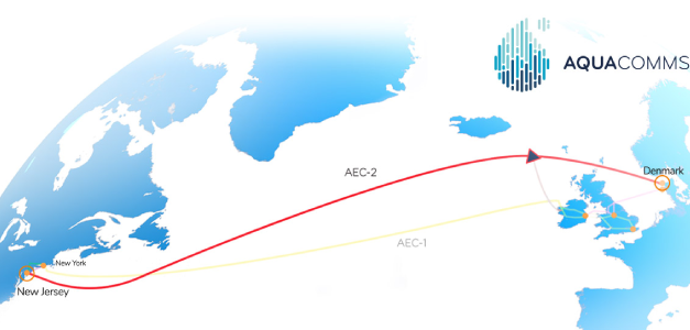 New North Atlantic Subsea System Offering Full Landing and Route Diversity: AEC-2 offered by Aqua Comms is Now Live