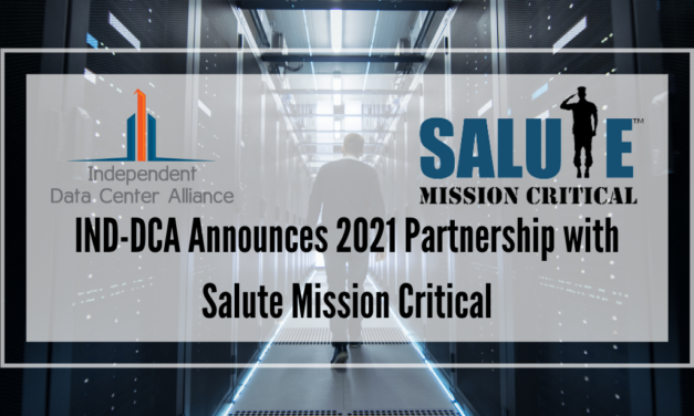 IND-DCA Announces 2021 Partnership with Salute Mission Critical