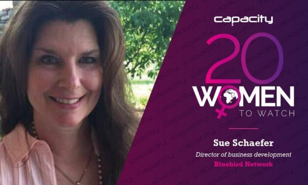 Bluebird Network's Sue Schaefer Recognized by Capacity Media for Her Dedicated Leadership