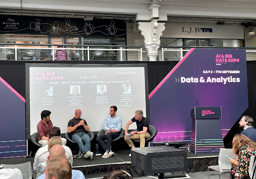Rob Elder, Vice President of Data Centers and Warren Barrie, Sales Director of Bulk Infrastructure Presented at AI and Big Data Expo in London