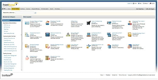 New IT Service Catalog Functionality for HEAT 2014.1