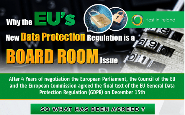 Why the EU's New Data Protection Regulation is a Board Room Issue