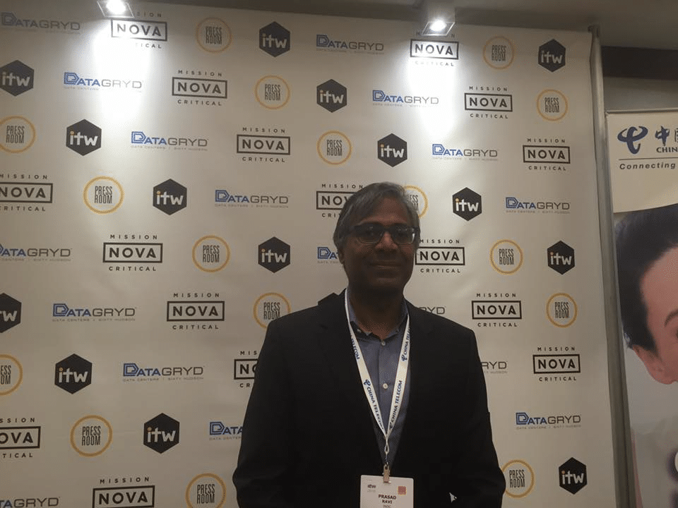 Interview with INOC CEO, Prasad Ravi, at ITW 2016