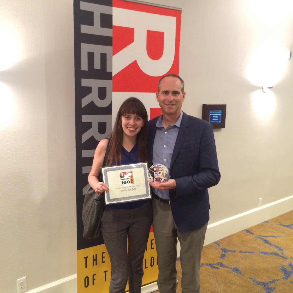 Unitas Global Selected as a 2016 Red Herring Top 100 North America Winner